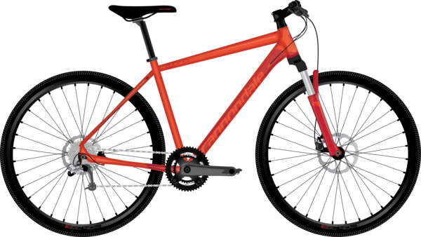 Cannondale Quick CX 3 Color: Acid Red