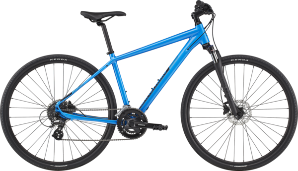 Cannondale Quick CX 3 Color: Electric Blue