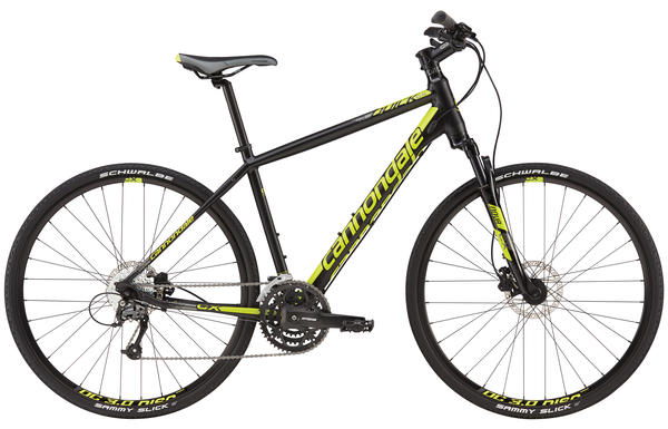 Cannondale Quick CX 3 Color: Jet Black/Neon Spring/Charcoal