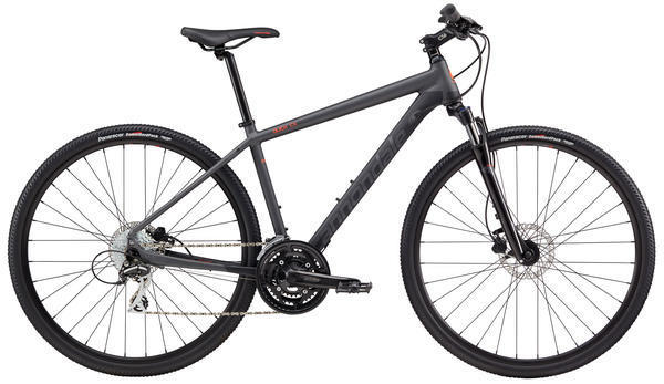 Cannondale Quick CX 4 Color: Nearly Black