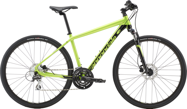 Cannondale Quick CX 4 Color: Acid Green
