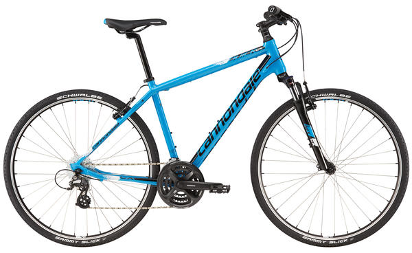 Cannondale Quick CX 5 Color: Ultra Blue/Jet Black/Matte Reflective White