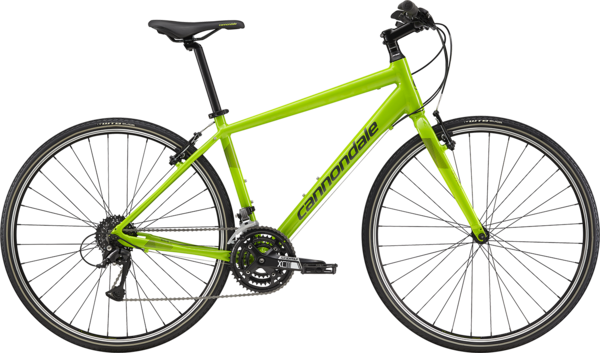Cannondale Quick 6 Color: Cannondale Green w/Green Clay and Vulcan