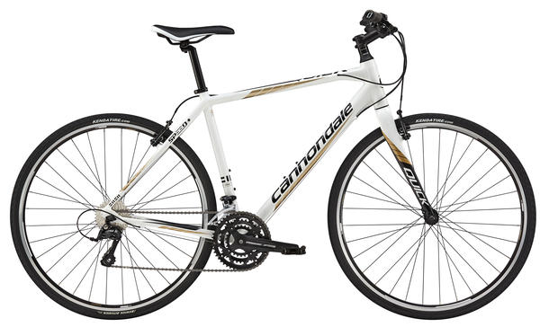 Cannondale Quick Speed 2 Color: Magnesium White w/Jet Black