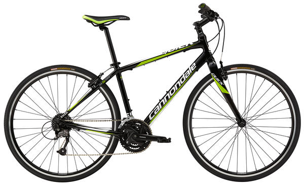 Cannondale Quick 4 Color: Jet Black w/Magnesium White