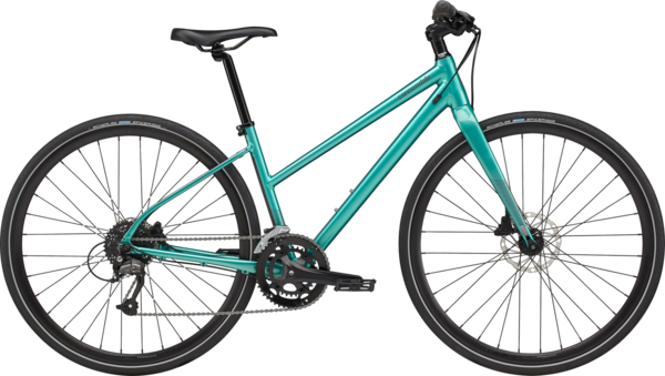 Cannondale Quick Women's 3 Remixte Color: Turquoise