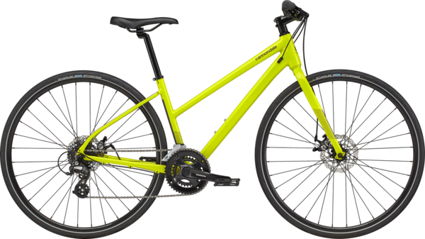 Cannondale Quick Women's 5 Remixte Color: Highlighter