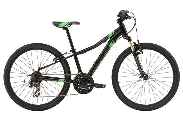 Cannondale Race 24 Color: Jet Black/Berserker Green