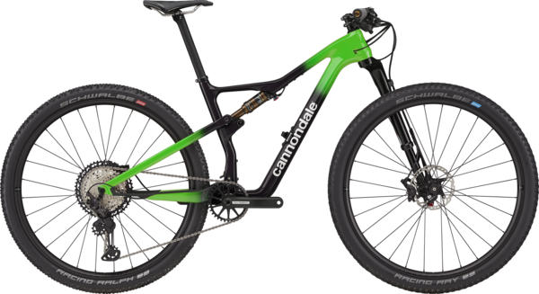 Cannondale Scalpel Hi-MOD 1 Color: Team Replica Carbon w/Cannondale Green