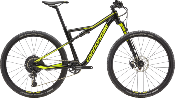 Cannondale Scalpel-Si 5 Color: Jet Black w/Volt