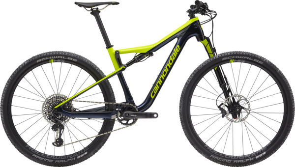 Cannondale Scalpel-Si Carbon 2 Color: Midnight w/Volt and Stealth Gray