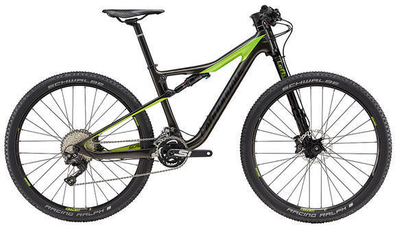 Cannondale Scalpel-Si Carbon Women's 2 (e21) Color: Anthracite/Acid Green/Nearly Black