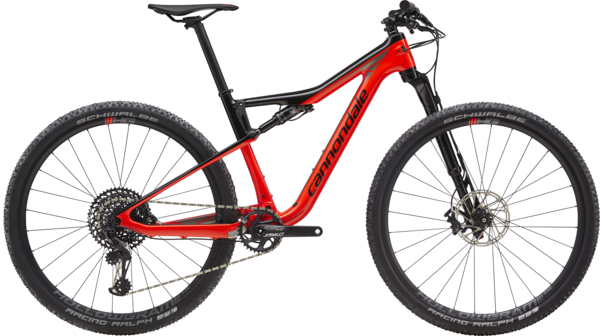 Cannondale Scalpel-Si Carbon 3 Color: Acid Red w/Jet Black and Meteor Gray
