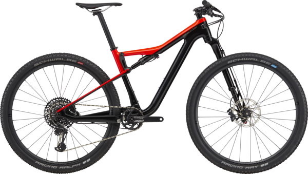 Cannondale Scalpel Si Carbon 3 Color: Acid Red