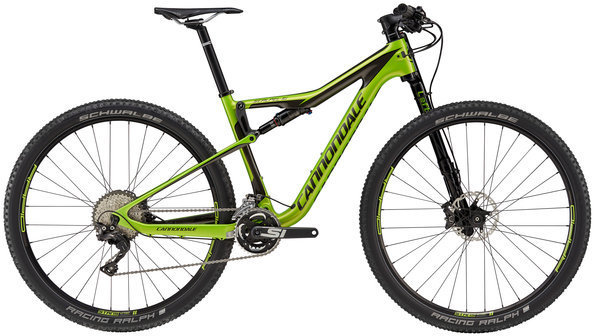 Cannondale Scalpel-Si Carbon 4 Color: Acid Green