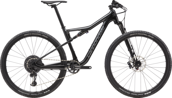 Cannondale Scalpel-Si Carbon 4 Color: Black Pearl w/Graphite and Charcoal