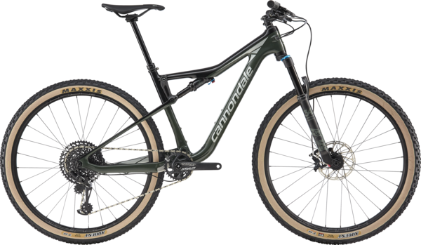 Cannondale Scalpel-Si Carbon SE Color: Green Clay w/Jet Black and Sage Gray