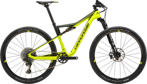 Cannondale Scalpel-Si Hi-Mod World Cup Color: Volt w/Green Clay and Vulcan