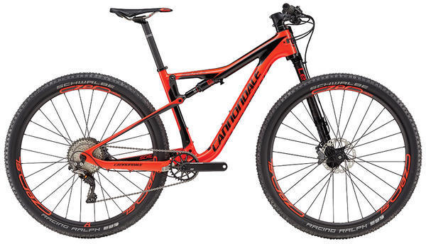 Cannondale Scalpel-Si Carbon 1 Color: Acid Red/Jet Black/Charcoal Grey Gloss