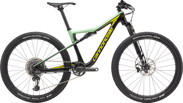 Cannondale Scalpel-Si Women's 1 Color: Black Pearl w/Mint and Hot Yellow