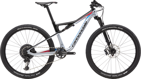 Cannondale Scalpel-Si Women's 2 Color: Stingray w/Electric Blue and Acid Strawberry