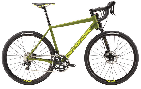 Cannondale Slate 105 Color: Army Green/Neon Spring Matte