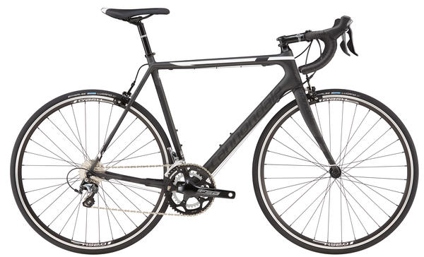 Cannondale SuperSix EVO Tiagra 6 Color: Nearly Black/Jet Black