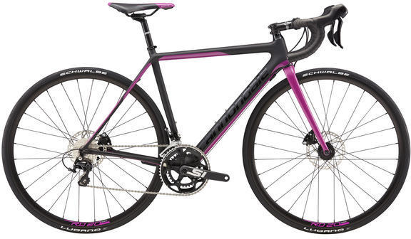 Cannondale SuperSix EVO Disc Women's 105 Color: Jet Black/Fushsia