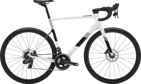 Cannondale SuperSix EVO Carbon Disc Force eTap AXS Color: Cashmere