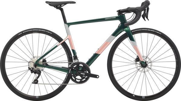 Cannondale SuperSix EVO Carbon Disc Women's 105 Color: Emerald