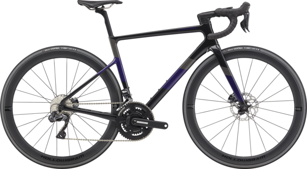 Cannondale SuperSix EVO Carbon Disc Women's Ultegra Di2 Color: Black Pearl