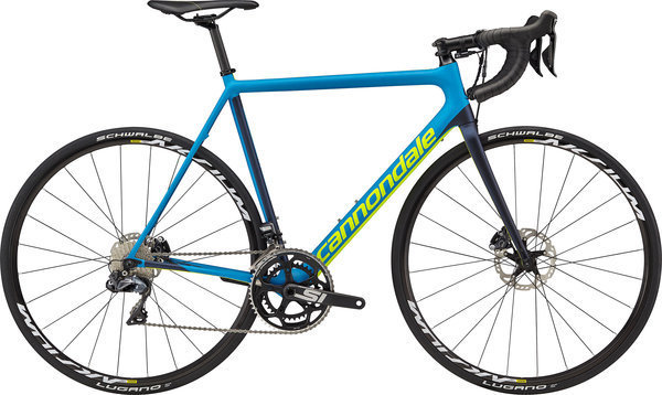 Cannondale SuperSix EVO Disc Ultegra Di2 Color: Spectrum Blue