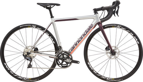 Cannondale SuperSix EVO Disc Women's Ultegra Color: Silver