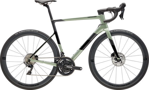 Cannondale SuperSix EVO Hi-MOD Disc Dura Ace Color: Agave