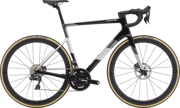 Cannondale SuperSix EVO Hi-MOD Disc Ultegra Di2 Color: Carbon