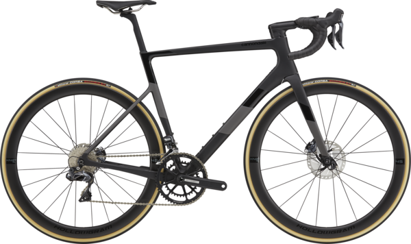 Cannondale SuperSix EVO Hi-MOD Disc Ultegra Di2 Color: Matte Black