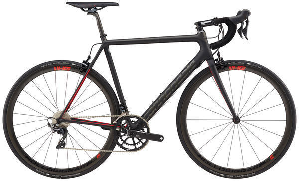 Cannondale SuperSix EVO Hi-MOD Dura-Ace 2 Color: Black and Red