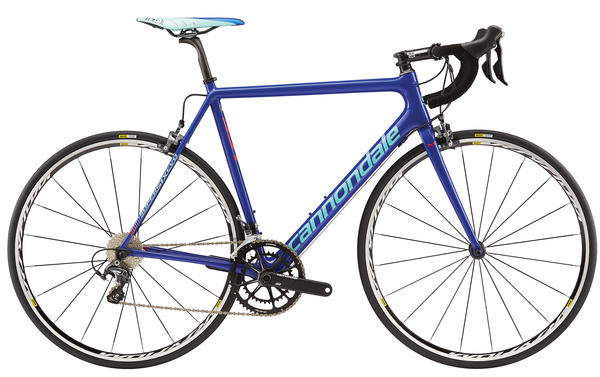 Cannondale SuperSix EVO Hi-MOD Ultegra Color: Cobalt Blue/Acid Red