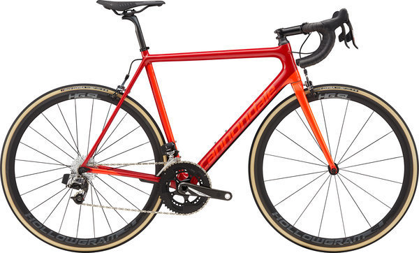 Cannondale SuperSix EVO RED eTap Color: Fire Red