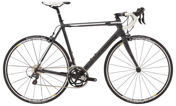 Cannondale SuperSix EVO Ultegra 4 Color: Nearly Black/Jet Black/Magnesium White Matte