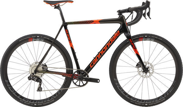Cannondale SuperX Di2 Color: Jet Black (Anth, Red, Org, Nitro, Volt) Gloss
