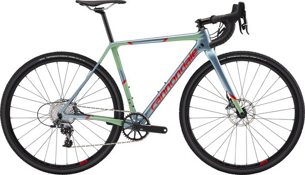 Cannondale SuperX Women's Force 1 (l9) Color: Glacier w/Mint and Acid Red