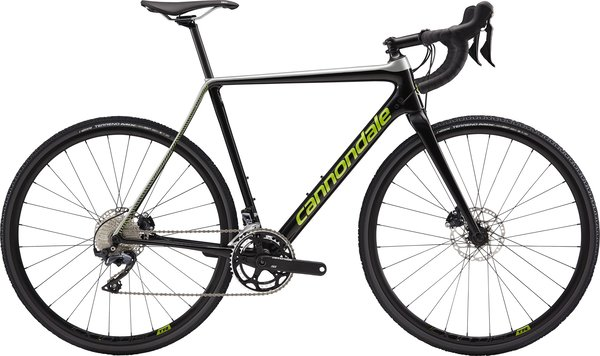Cannondale SuperX Ult Color: Black Pearl w/Sage Gray and Acid Green