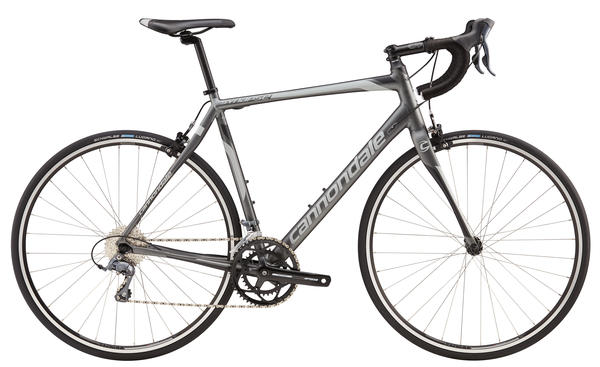 Cannondale Synapse Aluminum Claris 8 Color: Charcoal Grey w/Primer Grey and Jet Black