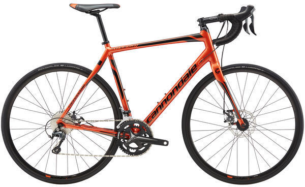 Cannondale Synapse Disc Tiagra Color: Burnt Orange