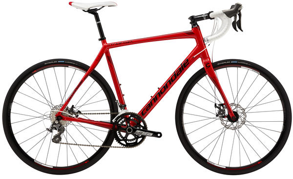 Cannondale Synapse Aluminum 105, Disc Color: Oxblood w/Race Red