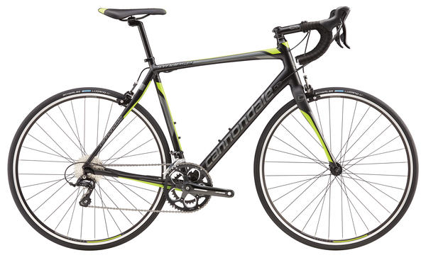 Cannondale Synapse Sora 7 Color: Jet Black/Charcoal Gray