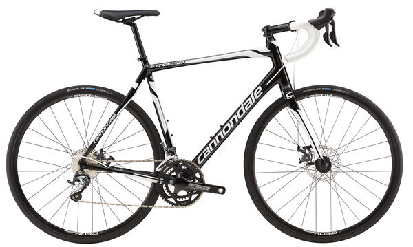 Cannondale Synapse Disc Tiagra 6 Color: Jet Black/Magnesium White