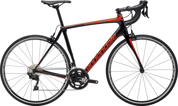 Cannondale Synapse Carbon 105 (k5) Color: Jet Black w/Acid Red