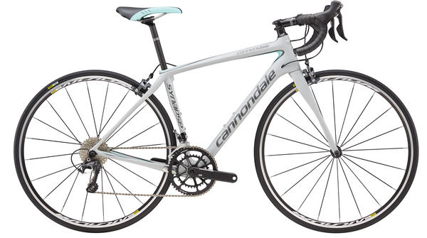 Cannondale Synapse Carbon Ultegra 3 - Women's Color: Primer Gray/Linen Green/Charcoal Gray